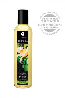 Масло для массажа Shunga Organica Exotic Green Tea, натуральное, с расслабляющим эффектом, с ароматом зелёного чая, 250 мл