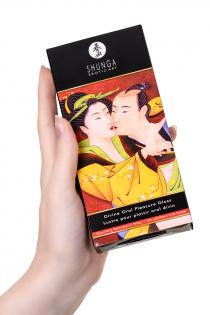 Блеск для губ Shunga «Божественное удовольствие», эффект тепла, прохлады и покалывания, клубника и шампанское, 10 мл