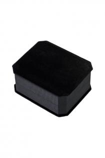 Анальная втулка Metal by TOYFA, металл, серебристая, с черным кристаллом, 10 см, Ø 4 см, 360 г