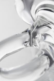 Анальная втулка Sexus Glass, стекло, прозрачная, 14,5 см, Ø 4 см