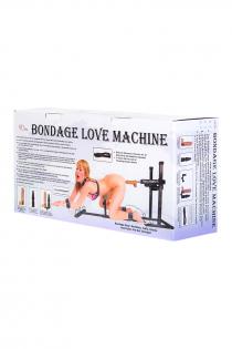 Секс-машина, Diva, Bondage с двумя насадками, металл, черный, 140 см
