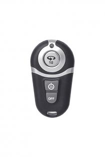 Вибратор с пультом ДУ TOYFA RealStick Elite Vibro, TPR, телесный, 10 режимов вибрации, 20 см