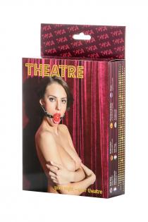 Кляп TOYFA Theatre, ABS пластик,  красный