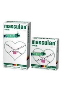 Презервативы Masculan Ultra 4,  3 шт.  Ультра прочные ШТ