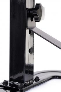 Секс-машина, Diva, Цезарь 4.0 с двумя насадками, металл, черный, 50 см