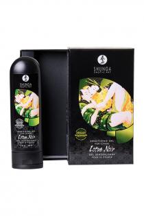 Возбуждающий гель для влюбленных Shunga Lotus Noir, уникальная формула с L-аргинином, 60 мл