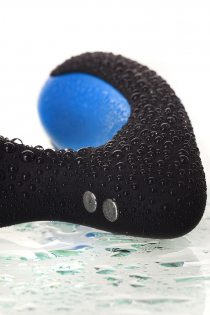 Стимулятор простаты Erotist Second, силикон, чёрный, 14 см