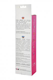 Вибратор A-Toys by TOYFA, силикон, розовый, 16 см