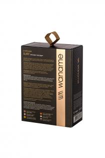 Стимулятор наружных интимных зон WANAME D-SPLASH Surf, силикон, чёрный, 10,8 см