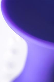 Анальная втулка TOYFA A-Toys  , Силикон, Фиолетовый, 12,5 см