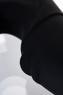 Стимулятор простаты Erotist Fourth, силикон, чёрный, 12,4 см