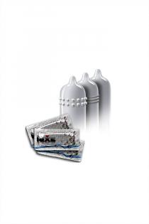 Презервативы Luxe КОНВЕРТ, Заключенный из Алабамы, банан, 18 см., 3 шт. в упаковке