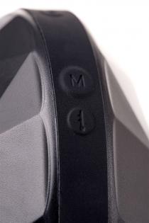Перезаряжаемый мастурбатор Erotist Magma с подогревом, силикон, чёрный, 12 см