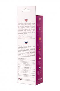 Нереалистичный вибратор TOYFA A-Toys  , Силикон, Розовый, 19,8 см