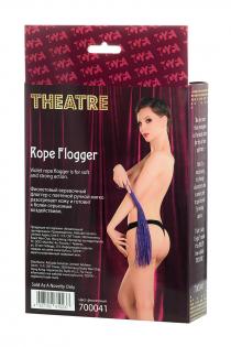 Флоггер из веревки TOYFA Theatre,сиреневый