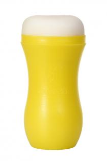 Мастурбатор TOYFA A-Toys, анус, желтый/телесный, 14 см