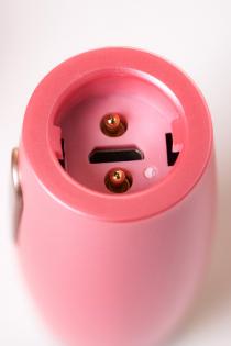 Нереалистичный вибратор Le Stelle PERKS SERIES EX-3, силикон, розовый, 18 см