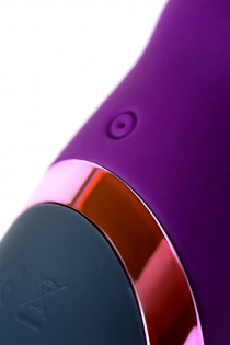 Стимулятор эрогенных зон Eromantica BUNNY, силикон, фиолетовый, 21,5