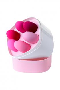 Набор вагинальных шариков Eromantica K-ROSE, силикон, розовый, 6 шт