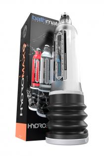 Гидропомпа Bathmate HYDROMAX9, ABS пластик, прозрачная, 32,5 см (аналог Hydromax X40)