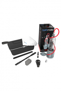 Гидропомпа Bathmate HYDROXTREME9, ABS пластик, прозрачная, 32,5 см (аналог Hydromax Xtreme X40)