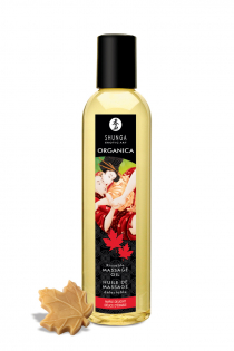 Масло для массажа Shunga Organica Maple Delight, натуральное, возбуждающее, с ароматом кленового сиропа, 250 мл