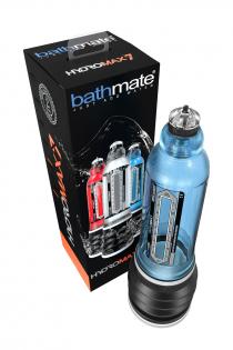 Гидропомпа Bathmate HYDROMAX7, ABS пластик, голубая, 30 см (аналог Hydromax X30)