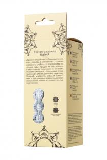 Мастурбатор нереалистичный Lingam by TOYFA  Rashmi , TPE, Прозрачный, 15,5 см