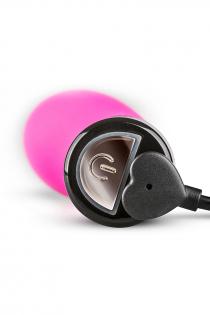 Нереалистичный вибратор Lil'Vibe, 10 режимов вибраций, силикон, розовый, 10 см
