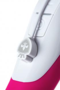 Вибратор Mystim Elegant Eric силиконовый, розовый, 27 см