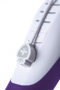Вибратор Mystim Sassy Simon силиконовый, фиолетовый, 27 см