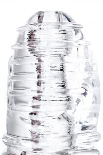 Мастурбатор нереалистичный Lingam by TOYFA  Savitri, TPE, Прозрачный, 14 см
