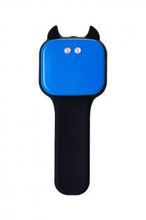Стимулятор простаты Erotist , Силикон, Чёрный, 14,5 см