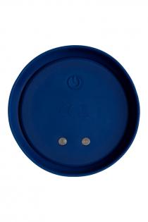 Анальная вибровтулка O'Play Wave с пультом ДУ, силикон, синий, 15,5 см.