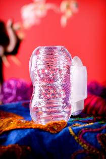 Мастурбатор нереалистичный Lingam by TOYFA  Khani, TPE, Прозрачный, 9 см