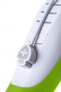 Вибратор Mystim Sassy Simon силиконовый, зеленый, 27 см