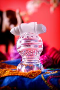 Мастурбатор нереалистичный Lingam by TOYFA  Shakti, TPE, Прозрачный, 9 см