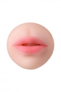 Мастурбатор реалистичный TOYFA Juicy Pussy Pretty Mouth, рот и вагина, SoftSkin, телесный,17 см