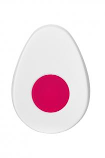 Клиторальный вибратор в трусики JOS FLIRTY, силикон, розовый, 9,3 см