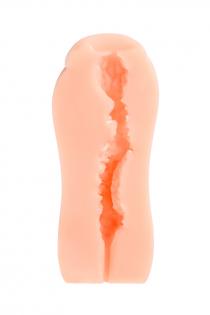 Мастурбатор реалистичный KOKOS Sanda, TPR, телесный, 15.5 см