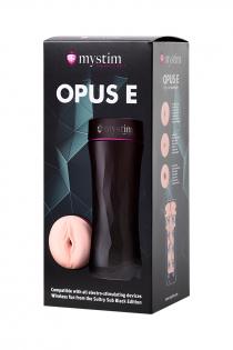 Мастурбатор Mystim Opus E Vagina, TPE, телесный, 21.5 см
