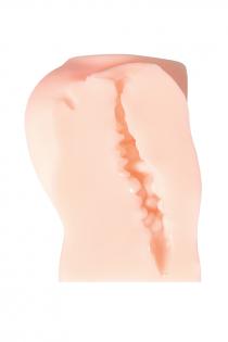 Мастурбатор реалистичный KOKOS Cleo, TPR, телесный, 13.5 см