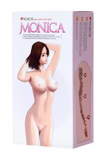 Мастурбатор реалистичный KOKOS Monica, TPR, телесный, 14.5 см
