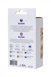 Расширяющая анальная втулка ToDo by Toyfa Bloom, силикон, синяя, 9 см, Ø 6,5 см
