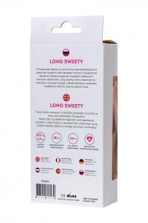 Анальная цепочка ToDo by Toyfa Long Sweety, силикон, розовая, 34 см, Ø 2,7 см