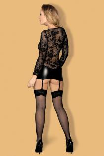 Платье wetlook с пажами Candy Girl Livia, OS