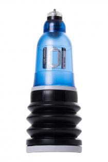 Гидропомпа Bathmate HYDROMAX3, ABS пластик, голубая, 22 см