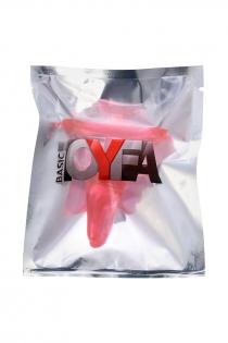 Анальная втулка TOYFA, ABS пластик, красный, 6,5 см, Ø 2,5 см