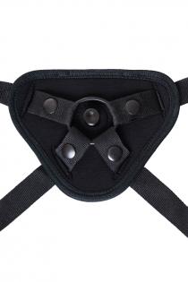 Трусики для страпона TOYFA RealStick Strap-On Master, неопрен, чёрные