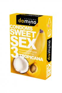 Презервативы Luxe DOMINO  SWEETSEX, тропические фрукты  №3